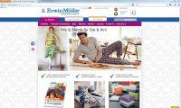 Neuer Onlinshop von www.erwinmueller.de