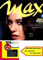 NEW MAX - Der reine MAX im neuen MAX