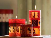 nobunto - handbemalte Kerzen aus Südafrika |  Kerzendesign: Damisi | Bildnachweis: © nobunto.de