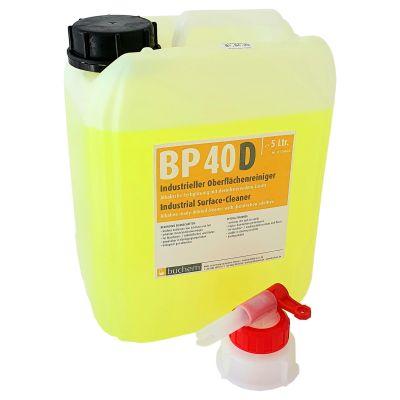 Buchem BP 40 D viruzider industrieller Reiniger. Desinfektion gegen Viren