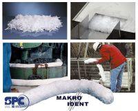 Ölbindemittel: 50 kg Mikrofaserflocken für 868 Liter Öl