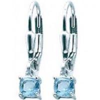 Ohrringe Silber mit Stein