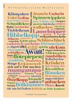 Ein Plakat mit Charme - Ostwestfälischer Wortschatz