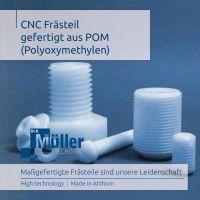 POM CNC Frästeile