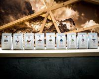 Das Kaffeesortiment der PrimeBeans Coffee Company