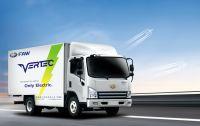 """Der e-Truck """"FAW VERTEC"""" eignet sich besonders für das Hongkonger Straßennetz. Foto: E. Tech Dynamic Technology Co. Limited"""