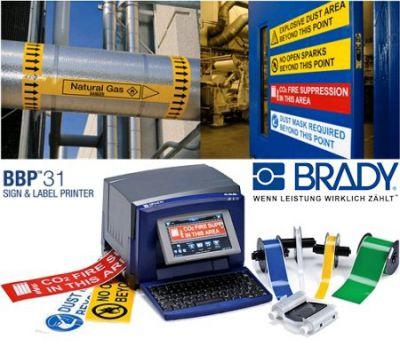Schilderdrucker BBP31 von Brady