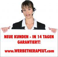 neue Kunden- in nur 14 Tagen. Mit dem Call-Center des Werbetheraeputen - kein Problem!