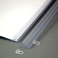 Aufklappbare Kunststoff-Posterschiene