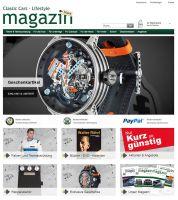 Classic Cars Lifestyle Store - Der Store rund um den Motorsport