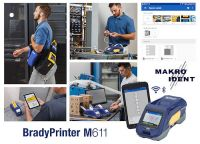 Tragbarer Etikettendrucker  M611 für die Kabelkennzeichnung