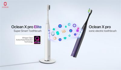 Oclean X pro Elite and Oclean X pro