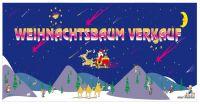 Bauzaunplakate - Banner für Weihnachtsbaum Verkauf