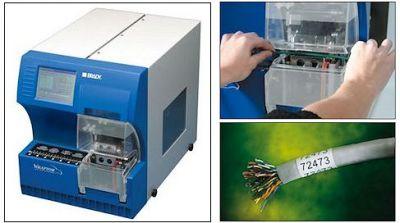 WRAPTOR Etikettenapplikator und Drucker in einem