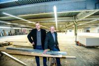 Mit großem Optimismus schauen Siegfried Scholz (re.) und Thorsten Scholz in die Zukunft. Bild: foto44