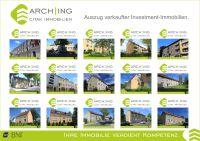 Auszug verkaufter Referenzen - Investment-Immobilien - ARCH-ING Citak Immobilien IVD