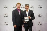 Geschäftsführer Burkhardt Schröder nahm in Essen die Auszeichnung entgegen. Foto: KD Busch/compamedia GmbH