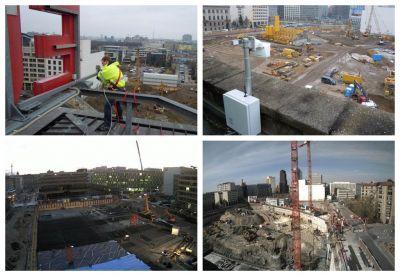 Baustellendokumentation Leipziger Platz Berlin
