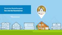 36 Musterhäuser sind nominiert beim Voting zum Deutschen Musterhauspreis 2017
