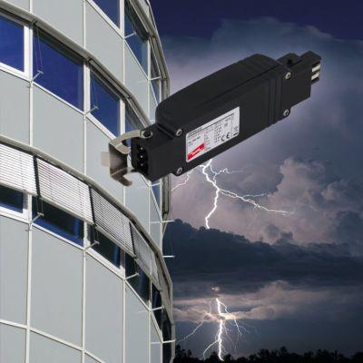 DEHNcord R 3P - der sichere und einfach steckbare Schutz für elektrische Raffstores, Jalousien und Markisen
