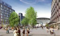 Ab 2018: Neues ALEX Berlin am Mercedes Platz - Bildnachweis: Archimation 2017