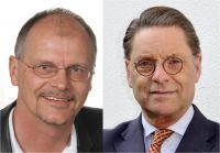 Energieberater Stefan Preiß (li.) und Thedor J. Tantzen von der Prinz von Preussen Grundbesitz AG