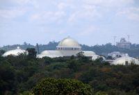 Die aufwändige Dachkonstruktion prägt das Erscheinungsbild des Gebäudes. (Foto: Boehme Systems Vertriebs GmbH)