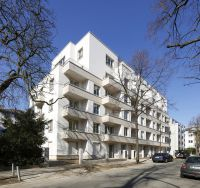 Mehrfamilienhaus Lindenstraße 29-31 am ehemaligen Suhrkamp-Sitz, Architekt: Karl Richter, Foto: Uwe Dettmar