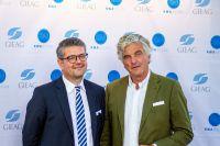 Thomas Männel (Vorstand) und Alexander Pferschy (Aufsichtsratsmitglied) der GIEAG Immobilien AG