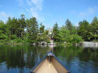 Kanutour auf dem Hirtle Lake