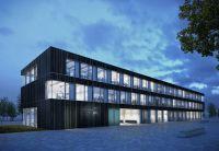 Das Forschungs- und Entwicklungsprojekt ibuilding zielt auf zukunftsorientierten Büro- und Verwaltungsbau ab. Foto: Brüninghoff