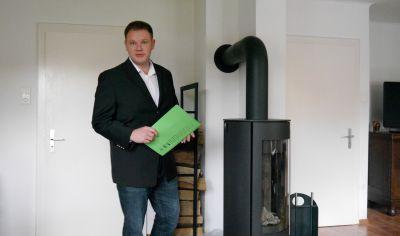 Immobilienmakler Marc Weniger