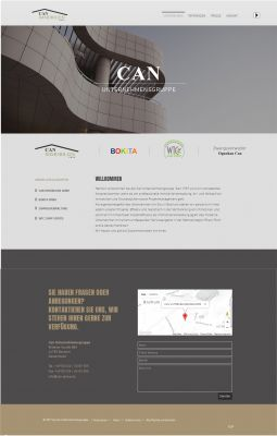 Relaunch Website Can Immobilien GmbH