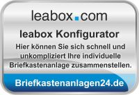 Der Leabox Briefkastenanlagen Konfigurator