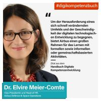Neu!  Digitale Kompetenzentwicklung bei Airbus Defence and Space von Dr. Elvire Meier-Comte