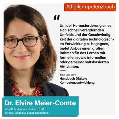 Dr. Elvire Meier-Comte  aus dem Handbuch Digitale Kompetenzentwicklung (© i40.de)