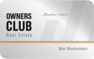 Real Estate Owners Club - Mitgliedskarte