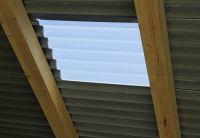 Renolit Ondex HR passen sich als Lichtplatten in Dach- und Wandkonstruktionen ein. (Foto: Wilkes GmbH)
