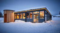 Rothaus Chalet auf dem Feldberg – gebaut mit den neuen Raum-Modulen von addhome
