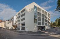 Das neue 5-geschossige Parkhaus direkt am Allgäu Center ist seit 1. Oktober 2016 in Betrieb. (Bildquelle: SeybandGruppe)