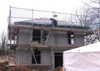 Dialuxe Massivhaus - Baustellenbesichtigung in Michendorf