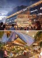 Visualisierung des künftigen ALEX MyZeil und Fassade MyZeil, ©ECE