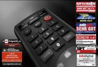Die Smart Control 5 (URC 7955) von ONE FOR ALL steuert bis 5 Endgeräte und wird per App via Bluetooth eingerichtet