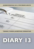 DIAR13 - Titelseite der Jahresterminvorschau 2013