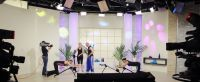 Live-Set CHANNEL21: Einblick ins neue, vollvariabele Studio des Hannoveraner Teleshopping-Senders.