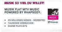 MTV Music powered by Rhapsody: Zu jeder Zeit die neuesten Songs