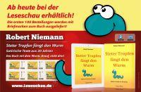 """Exklusive Neuerscheinung in der Leseschau! Das Buch mit dem Wurm! Robert Niemann """"Steter Tropfen fängt den Wurm - Satirische Texte"""