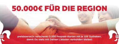 Die Preisbörse24 verschenkt 5.000 x 10 EUR Prepaidkarten an Helfer und Helden des Alltags.
