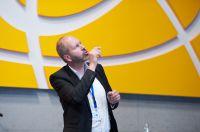 Herr Markus Breuer bei einem Vortrag der main.IT