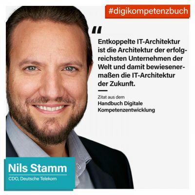 Nils Stamm, Chief Digital Officer, Deutsche Telekom aus dem Handbuch Digitale Kompetenzentwicklung  (© @i40.de)